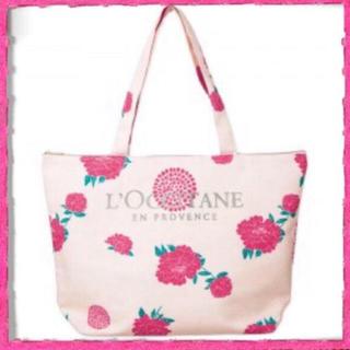L'OCCITANE - 新品 ロクシタン 花柄トートバッグ
