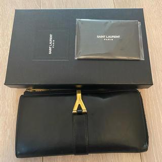 Yves Saint Laurent Beaute - イヴ・サンローラン 長財布 ブラック 黒