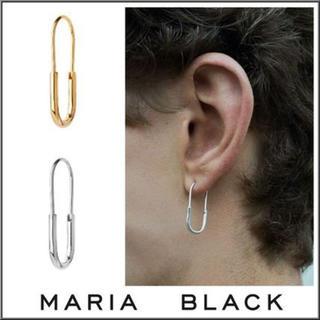 【新品】MARIA BLACK CHANCE ミニ シングルピアス(ピアス(片耳用))