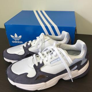adidas - 未使用品☆アディダス☆ファルコン☆スニーカー☆27㎝☆パープル/ホワイト