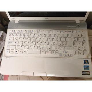 エヌイーシー(NEC)のSSD搭載LaVie Win10 NEC LS550/E Corei5 4GB (ノートPC)