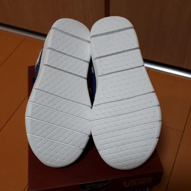 VANS(ヴァンズ)のざわ様専用 VANSスニーカー17センチ キッズ/ベビー/マタニティのキッズ靴/シューズ(15cm~)(スニーカー)の商品写真