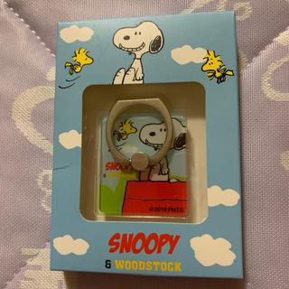 スヌーピー(SNOOPY)のSNOOPY スマホホルダー(ストラップ/イヤホンジャック)