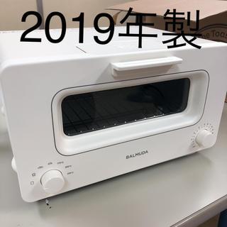 バルミューダ(BALMUDA)のバルミューダ スチーム オーブン トースター  K01E-WS(ホワイト)(電子レンジ)
