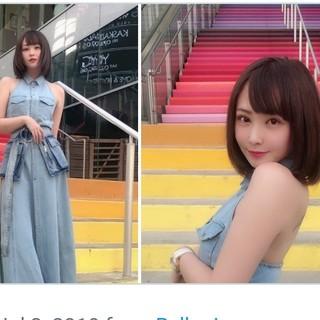 DIESEL - 倉木麻衣さんTV衣装、てんちむさん愛用★ディーゼル・デニムドレス