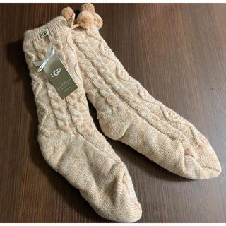 UGG - UGG ポンポン ソックス 靴下