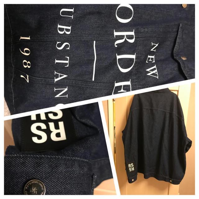 RAF SIMONS(ラフシモンズ)のraf simons デニムジャケット 権力の美学 neworder 18ss メンズのジャケット/アウター(Gジャン/デニムジャケット)の商品写真