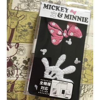 Disney - ★新品★ミッキー&ミニー★手帳型スマホケース 全機種対応