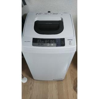 日立 - 日立洗濯機 2016年製 NW-5WR 5kg-STEP WASH