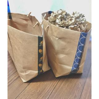 ミナペルホネン(mina perhonen)のミナペルホネン ハンドメイド ペーパーバッグ(カード/レター/ラッピング)