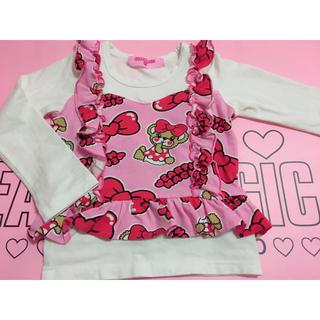 アースマジック(EARTHMAGIC)のリボンマフィー♡ 100(Tシャツ/カットソー)