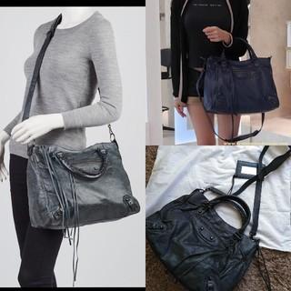 バレンシアガバッグ(BALENCIAGA BAG)のBALENCIAGA 2way  ショルダーバッグ 美品 ヴェロ 旅行バッグ(ショルダーバッグ)