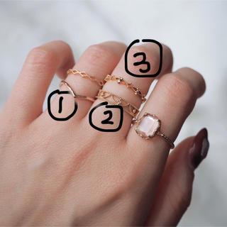 エテ(ete)のete エテ K10YG ダイヤモンド ピンキーリング 5号 (リング(指輪))