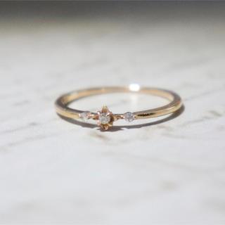 アガット(agete)のアガット k18 ダイヤ リング(リング(指輪))