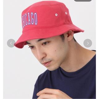 ニコアンド(niko and...)の【新品】niko and… ニコアンド ロゴスウェットハット 帽子(ハット)
