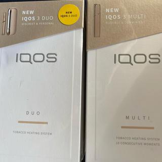 IQOS - IQOS DUO マルチ ゴールドセット