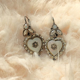 ロキエ(Lochie)の🆕vintage heart bijou french pierce🍬(ピアス)