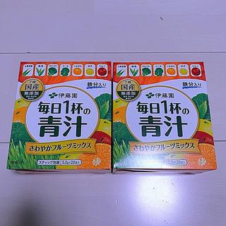イトウエン(伊藤園)の毎日1杯の青汁 さわやかフルーツミックス(青汁/ケール加工食品)