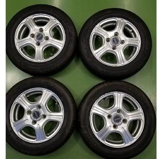 ブリヂストン(BRIDGESTONE)の155/65R13 タイヤホイールセット 中古4本1セット(タイヤ・ホイールセット)