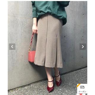 アクアガール(aquagirl)のaquagirl チェックマーメイド スカート(ひざ丈スカート)