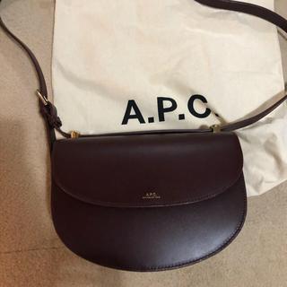 アーペーセー(A.P.C)のapc ショルダー バッグ ワイン(ショルダーバッグ)