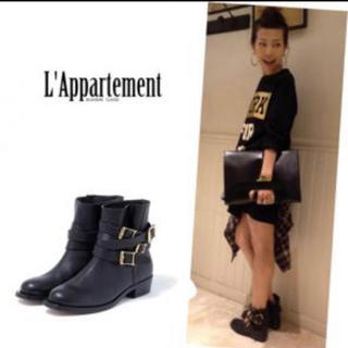 アパルトモンドゥーズィエムクラス(L'Appartement DEUXIEME CLASSE)のアパルトモン 購入 RupertSanderson ブーツ 36(ブーツ)