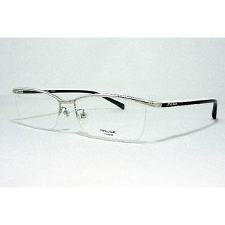 ポリス(POLICE)のPOLICE 眼鏡フレーム VPL175J-579 チタン国内 正規品(サングラス/メガネ)
