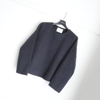 ANAYI - ■アナイ■ 36 ダブルフェイス チャコールグレー コート