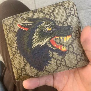 Gucci - GUCCI 折り財布 ウルフ