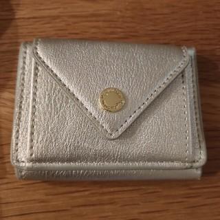 レガートラルゴ(Legato Largo)のレガートラルゴ 3つ折り財布 シルバー(財布)