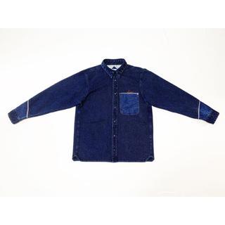 ヴィスヴィム(VISVIM)の定価38000円 30%off 20SS FURY刺し子風インディゴドビーシャツ(シャツ)