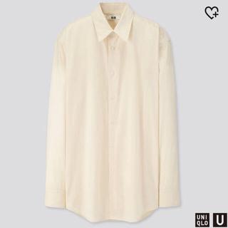 UNIQLO - 【UNIQLO U】ブロードシャツ ユー 19AW