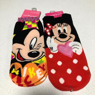 Disney - 新品未使用 ミッキーミニー 靴下セット ソックス ディズニーシー購入