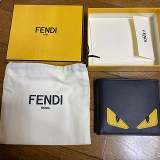 FENDI - FENDI モンスター 折りたたみ財布 小銭入れ無し⁉️