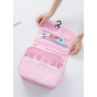 Francfranc - 【新品】【ピンク】旅行用メイクポーチ トラベル用品