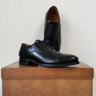 リーガル(REGAL)の美品 Berwick 3010 ストレートチップ ブラック 6 25cm(ドレス/ビジネス)