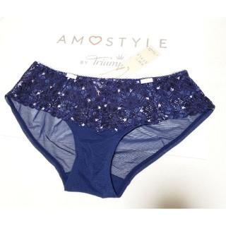 AMO'S STYLE - Triumph AMO'S STYLE 可愛い星柄プリントショーツL ネイビー