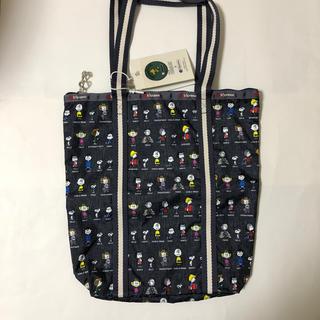 LeSportsac - レスポートサック × スヌーピー  ピーナッツオールスター トートバッグ
