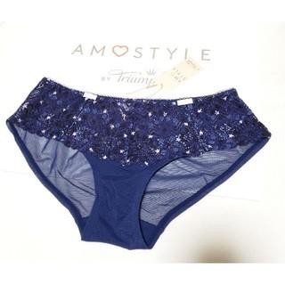 AMO'S STYLE - Triumph AMO'S STYLE 可愛い星柄プリントショーツM ネイビー