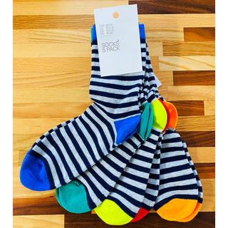 エイチアンドエム(H&M)のH&M 靴下5足セット 18cm-20cm 男の子(靴下/タイツ)