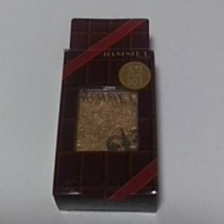 リンメル(RIMMEL)の新品未使用限定品RIMMELアイカラーゴールドフレークショコラ101(アイシャドウ)