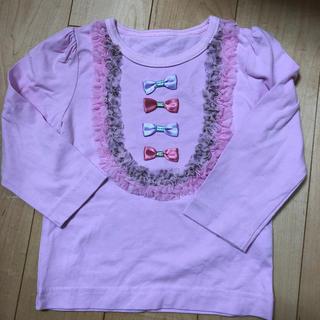 フェフェ(fafa)のパンパンチュチュ  80 ロンT(Tシャツ/カットソー)
