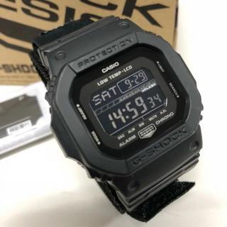 ジーショック(G-SHOCK)のCASIO G-SHOCK GLS-5600WCL Gライド ベルクロ ブラック(腕時計(デジタル))