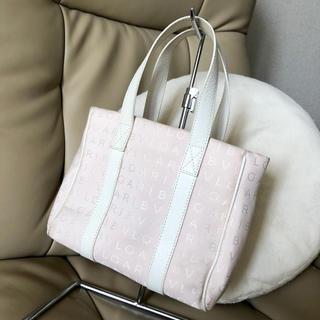ブルガリ(BVLGARI)のBVLGARI ブルガリ♡ハンドバッグ♡ピンク ホワイト 白♡トート ミニ(トートバッグ)