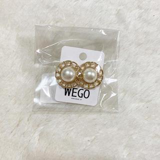 WEGO - 新品 イヤリング WEGO パール