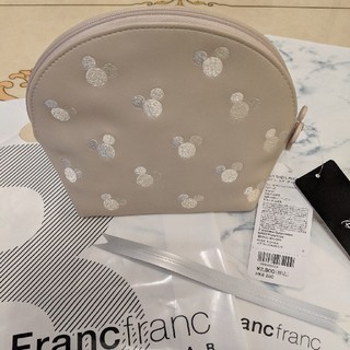 Francfranc - フランフラン ディズニー シエル型ポーチ ベージュ