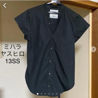 ミハラヤスヒロ(MIHARAYASUHIRO)のミハラヤスヒロ13SS 変形 ブラウス サイズ38(シャツ/ブラウス(半袖/袖なし))