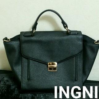 INGNI - 【本日削除/最終値下げ】INGNI  2way ハンドバッグ