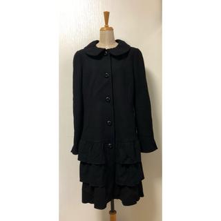 エムズグレイシー(M'S GRACY)のエムズグレイシー M'S GRACY 裾フリルティアードコート(ロングコート)