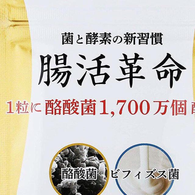 腸活革命 食品/飲料/酒の健康食品(その他)の商品写真
